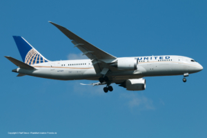 N27908 United Airlines Boeing 787-8 Dreamliner (sn 36400 / ln 124)