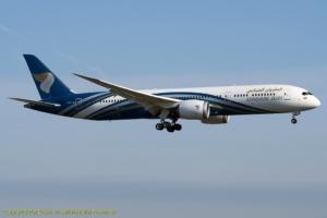 A4O-SC Oman Air Boeing 787-9 (ln 529)