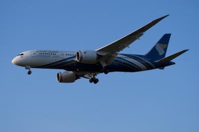 A4O-SA Oman Air Boeing 787-8 (ln 340)