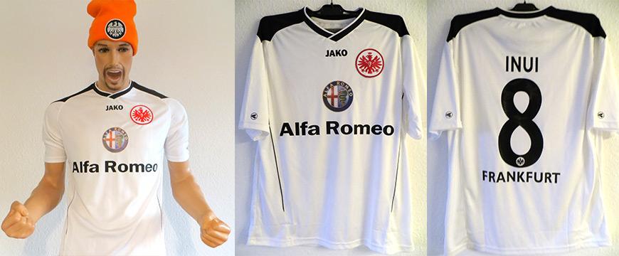 Eintracht Frankfurt Trikot Inui Baku Matchworn