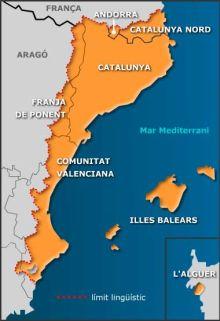 Mapa de la llengua catalana
