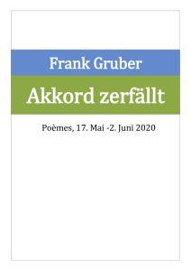 thumbnail of WVL27 Akkord zerfällt, Poème