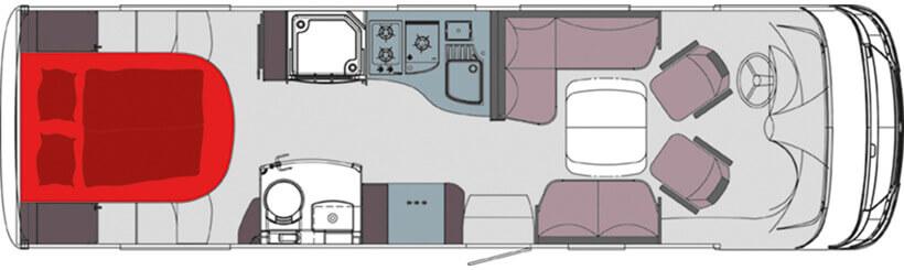 FRANKIA F-Line I 840 QD