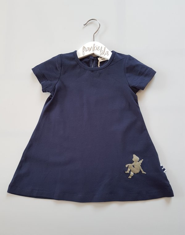 Navy Angel Wing Dress (front)