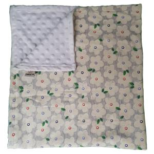 Winter Flowers Blanket