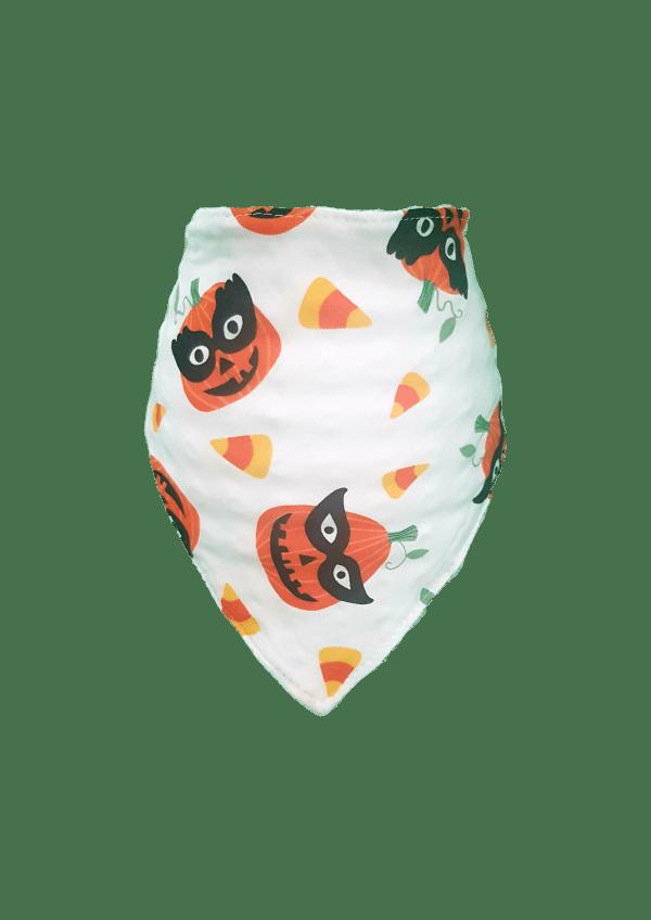 Pumpkin Bandana Bib