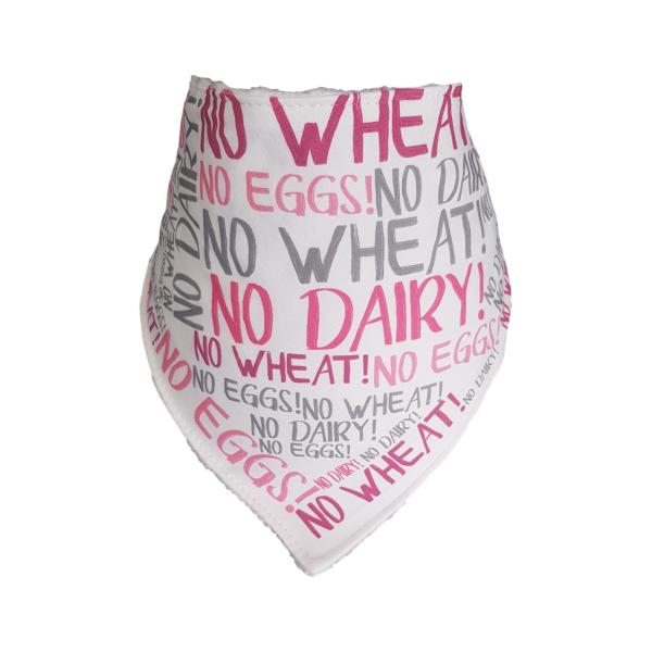 Mixed Allergy Bandana Bib