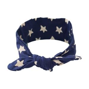 Navy Star Hair Wrap