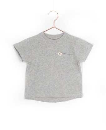 Produktfoto: T-Shirt mit aufgesetzter Brusttasche, Vorderseite