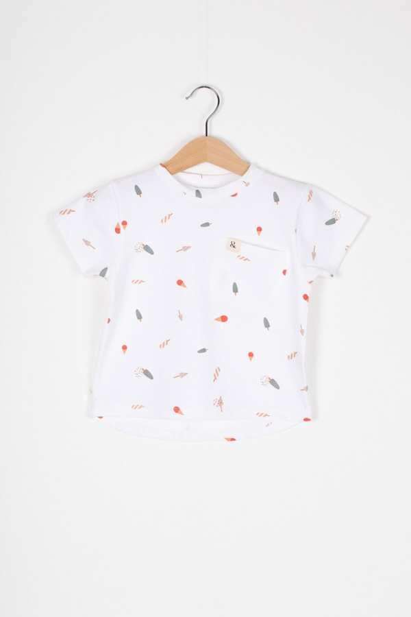 Produktfoto: T-Shirt aus Bio-Jersey für Kinder, Vorderseite