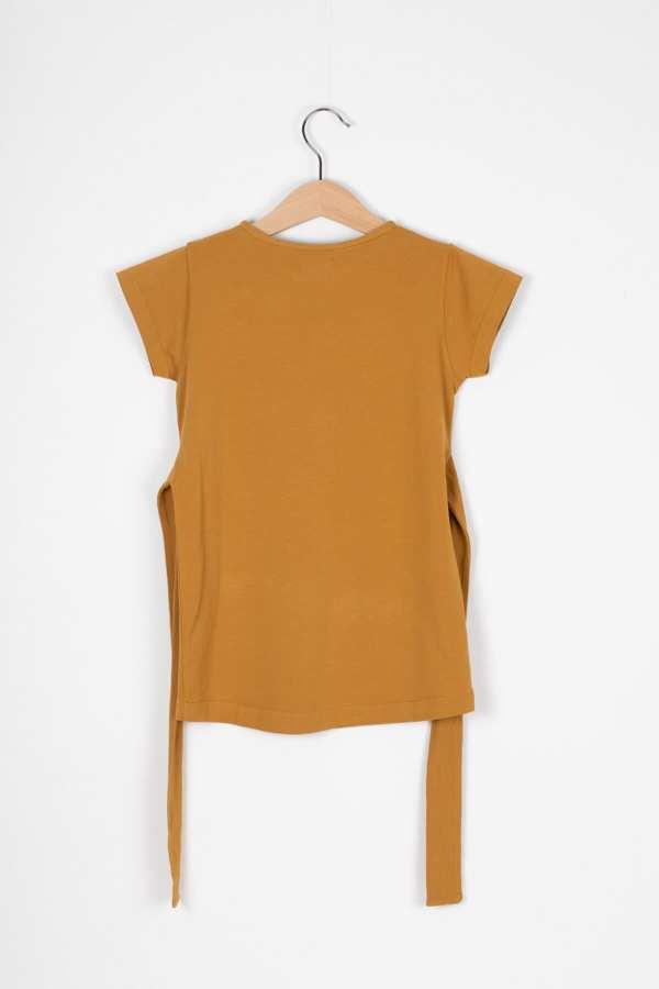 Produktfoto: Kleid mit Bindegürtel für Kinder, Rückseite
