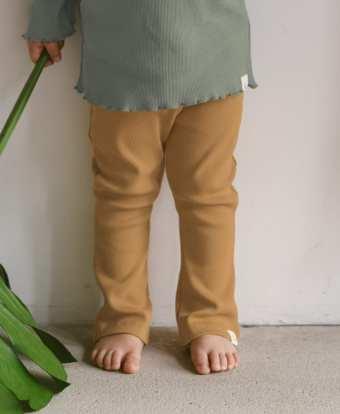 Hosen aus Rib Jersey für Kinder