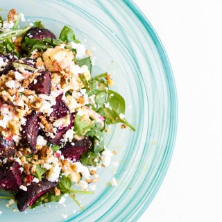 Honey Roasted Beetroot and Cauliflower Salad