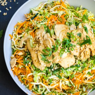 Asian Salad with Peanut Dressing