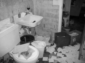 bathroom before B&W