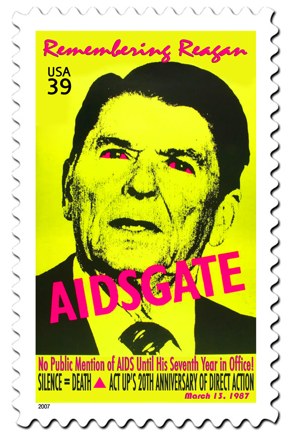 AIDSGATE Commemorative Stamp