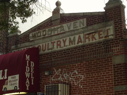 Woodhaven Live Poultry Market c.1915