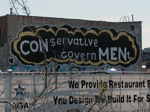Conservative Government - Greenpoint, Brooklyn