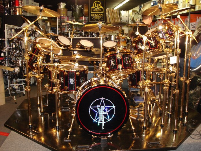 Neil Peart's Drum Kit