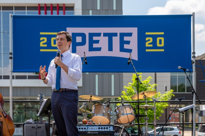 Pete Buttigieg by Lorie Shaull
