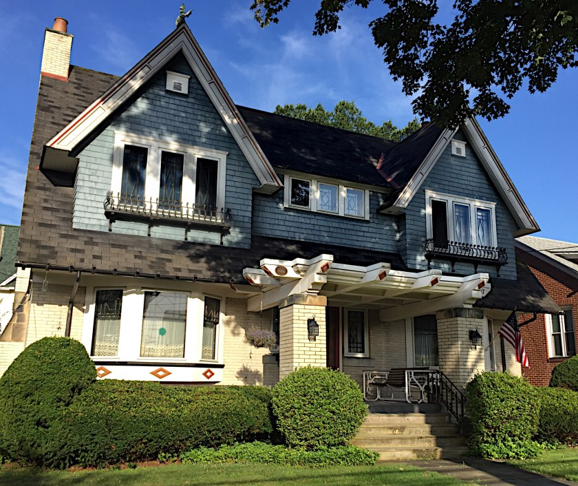 Craftsman Style bungalow built in 1906. Elk Street