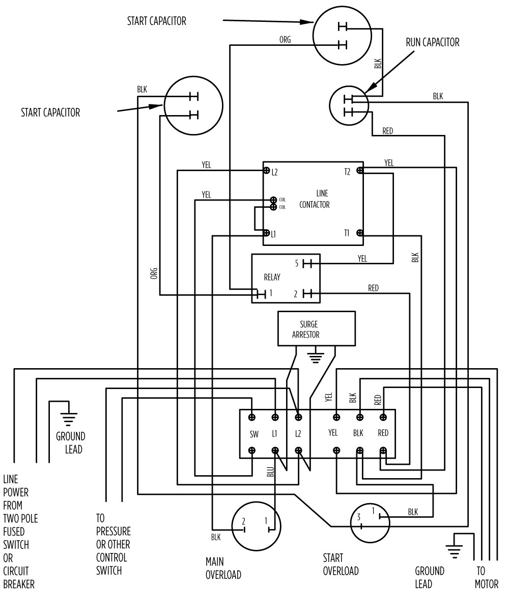 mag ic starter single phase motor wiring diagrams mag motorcycle wire harness images