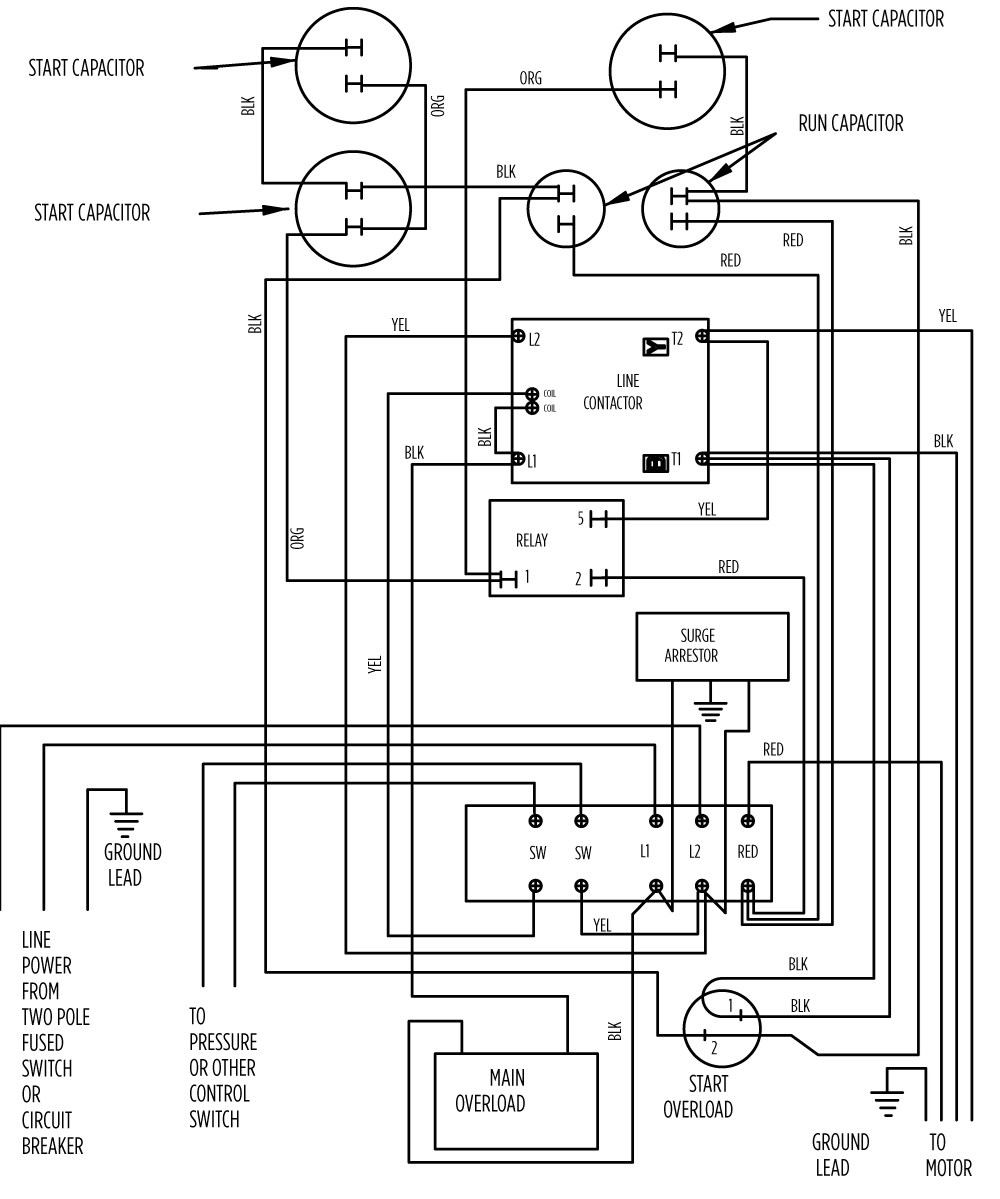 3 Phase C Compressor Wiring Diagram
