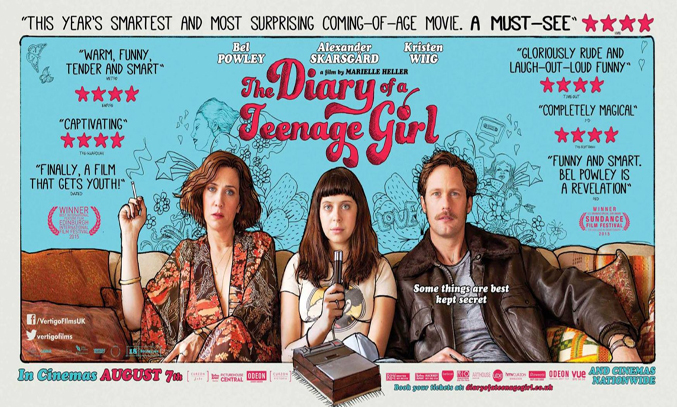 Film Review: The Diary of a Teenage Girl