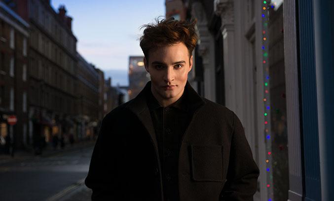 Actor Jos Vantyler. Image Credit: Rosalind Hobley