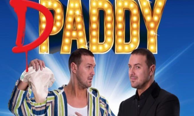 Paddy McGuinness Daddy McGuiness at The Lowry