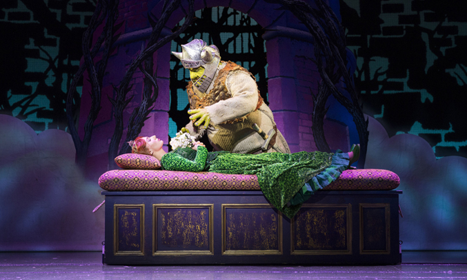 Shrek at the Lowry