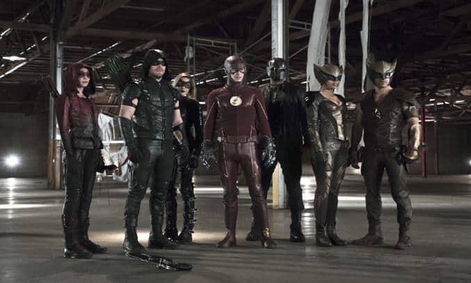 Green Arrow and The Flash team-up in ARROW season four
