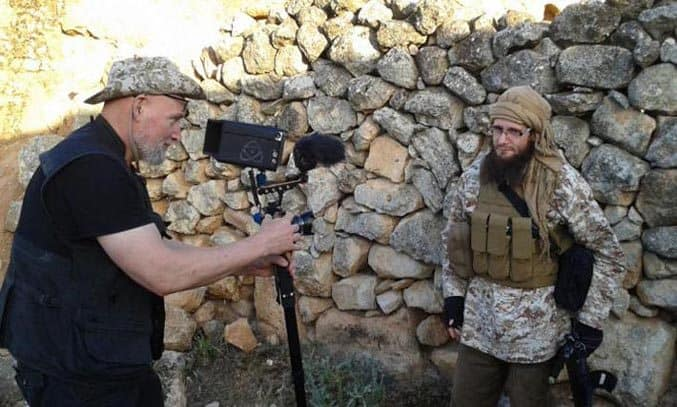 Paul Refsdal interview Abu Bashir Al-Britani in DUGMA THE BUTTON