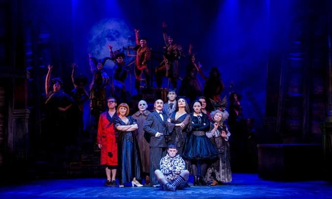 The Addams Family Musical UK Tour