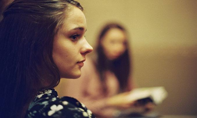 Molly Wright in APOSTASY
