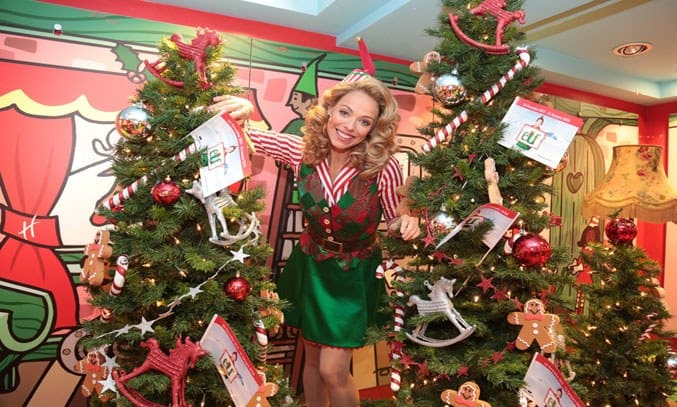 Liz McClarnon in ELF THE MUSICAL