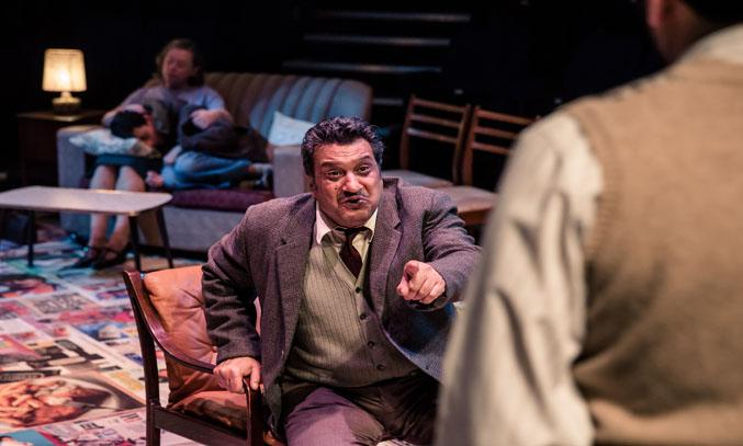 Kulvinder Ghir as GEORGE KHAN in EAST IS EAST at Bolton Octagon