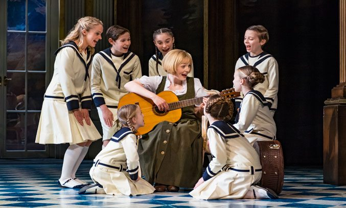 Lucy O'Byrne and the cast of THE SOUND OF MUSIC