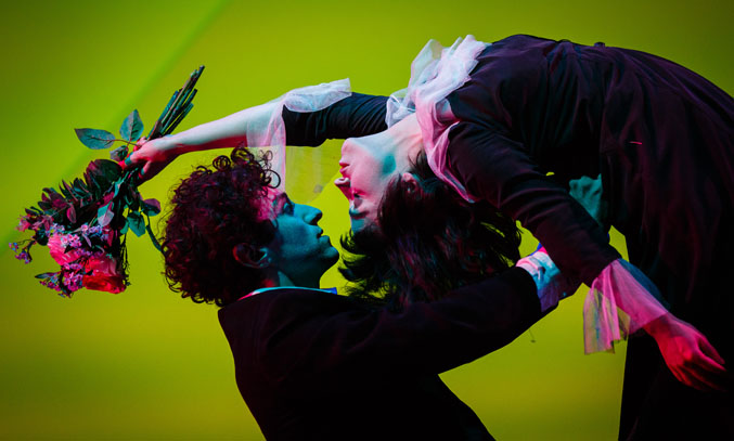 Kneehigh's The Flying Lovers of Vitebsk.