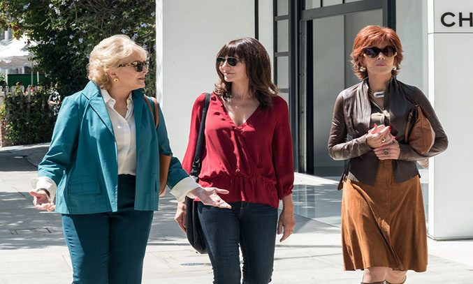 Candice Bergen, Jane Fonda and Mary Steenburgen in BOOK CLUB.