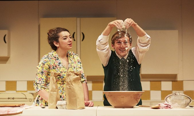 Lizzie Muncey and Sam Newton in TOAST.