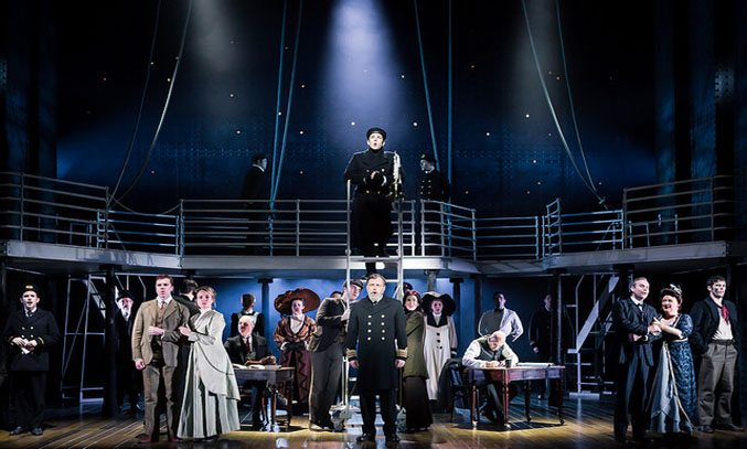 The cast of Titanic The Musical.