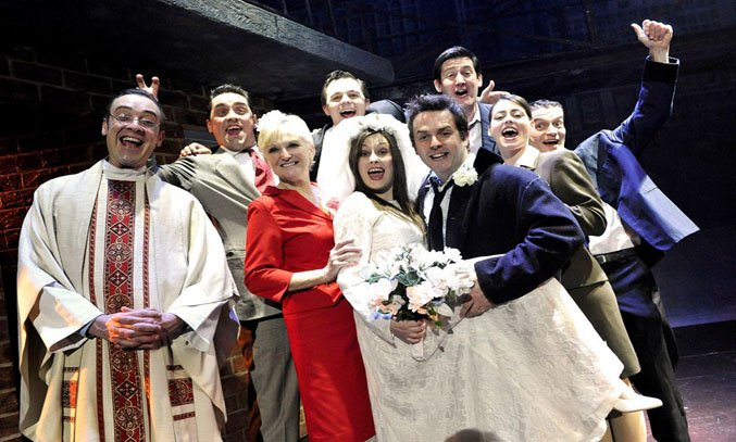 The cast of BLOOD BROTHERS