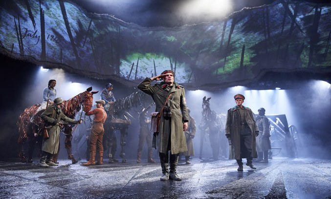Peter Becker as Friedrich & Jack Lord as Klausen in WAR HORSE
