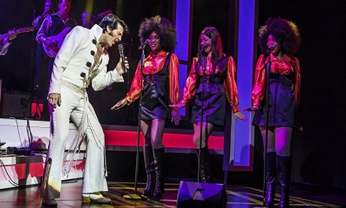 Steve Michaels as Elvis in THIS IS ELVIS