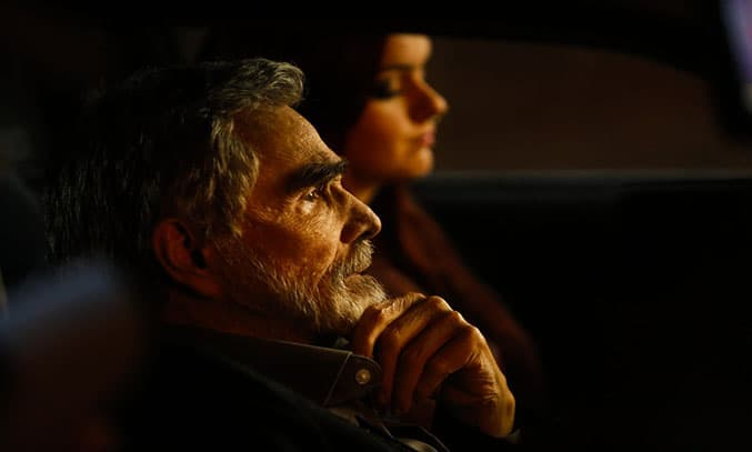 Burt Reynolds and Ariel Winter in THE LAST MOVIE STAR