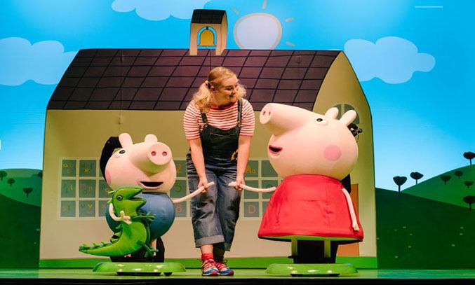 Peppa Pig's Adventure UK & Ireland Tour 2017 & 2018. Photo Dan Tsantilis