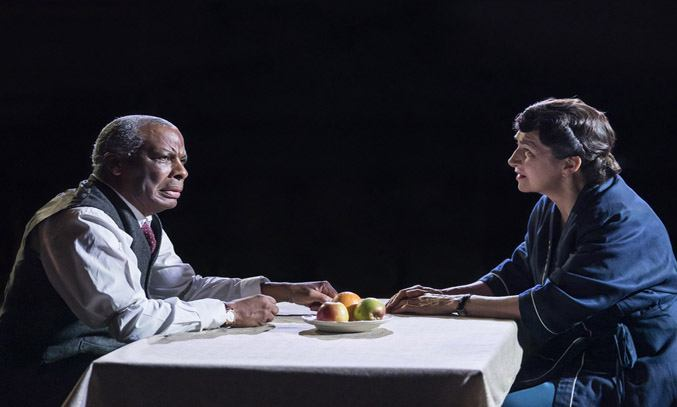 Don Warrington (Willy) and Maureen Beattie (Linda) in DEATH OF A SALESMAN.