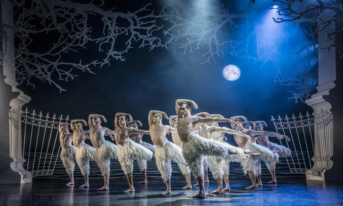 Matthew Bourne's SWAN LAKE at Royal Theatre Plymouth.