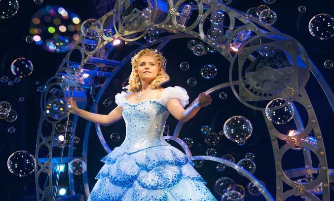 Helen Woolf as Glinda in WICKED UK & Ireland Tour.